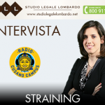 Intervista in materia di Straining
